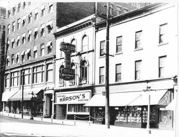 Karson's on Rideau. Source: Lost Ottawa / Facebook.