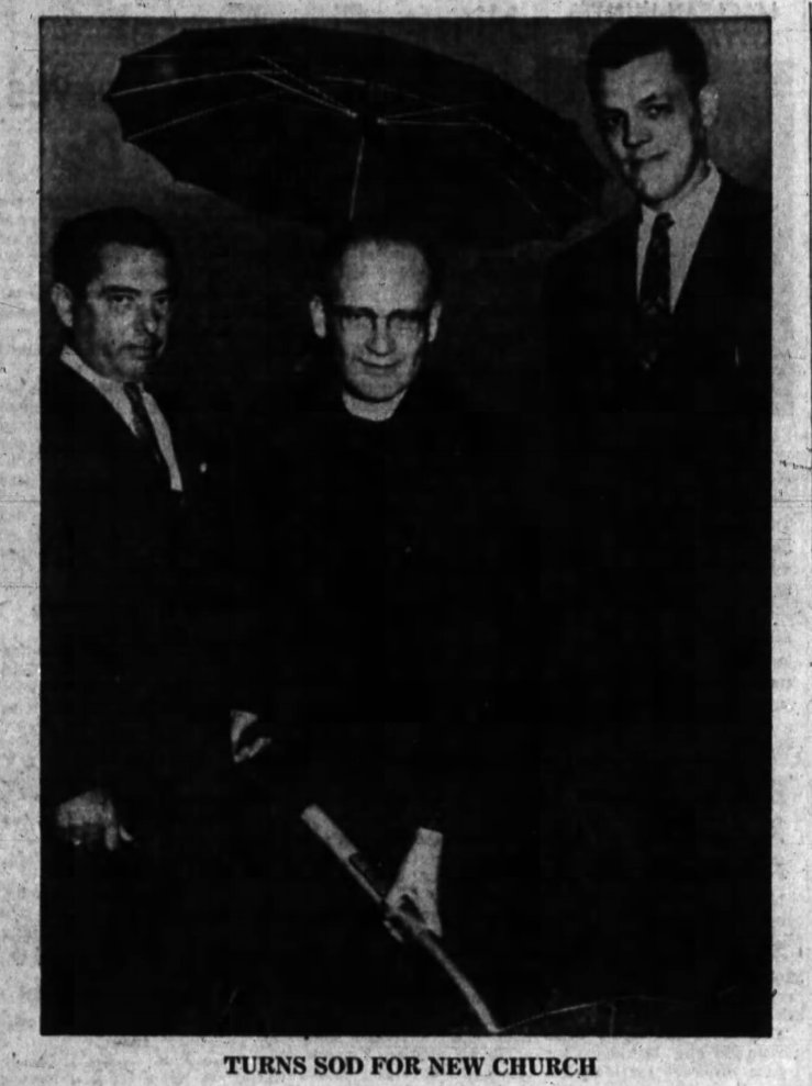 Roger Thibault (right) looms, both literally and figuratively. Source: Ottawa Journal, August 23, 1960, p. 7.