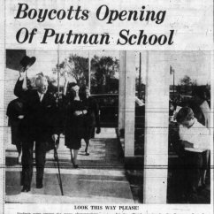 Vanier attended the school's grand opening. Source: Ottawa Journal, October 20, 1961, p. 3.