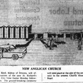 St. Richards. Source: Ottawa Journal, April 19, 1962, p. 13.