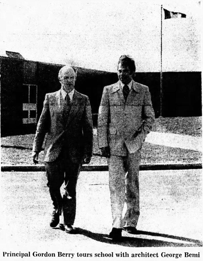 Bemi and Gordon Berry. Source: Ottawa Journal, September 18, 1975, p. 67.