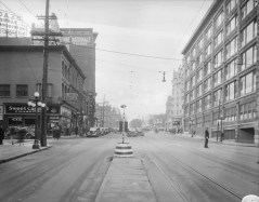 Some spatial context, c. 1940. Rideau, looking west, at Little Sussex. Image: Public Works / LAC Accession 1979-140 NPC CP-686.