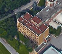 Arts Wing, 2015. Image: Google Maps.
