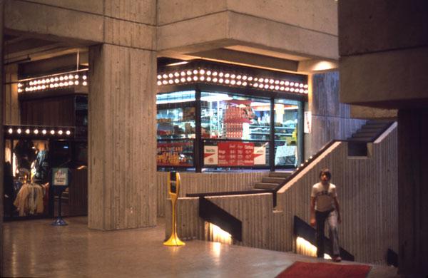 Interior, Phase II. 1975. Image: Public Works / LAC Accession 1984-082 NPC Box TCS 00041 Item 3-25.