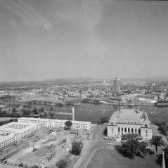 Phase I, Exterior View. July 8, 1972. Image: Hans Blohm / LAC Accession 1984-082 NPC, Item 1836-1.