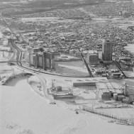 Phases I - III, Exterior View. December 25, 1975. Image: Hans Blohm / LAC Accession 1983-074 NPC, Box 05505, Item 2449-5.