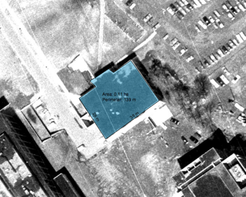 University Commons, 1965. Image: geoOttawa.