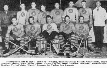 He was a semi-pro hockey player, with the Philadelphia Arrows of the xHL.