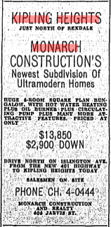 Source: Toronto Star, August 27, 1955, 31.