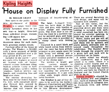 Source: Globe and Mail, June 16, 1956, 11.