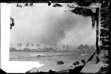 Fire in Porcupine, July 11, 1911. Image: H. Peters / Archives of Ontario C 312-0-0-0-16.