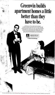 Advertisement. Source: Toronto Star, February 16, 1968, 14.