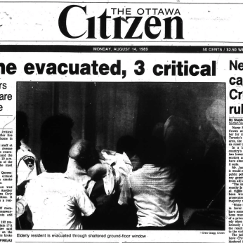 Source: Ottawa Citizen, August 14, 1989, A1.