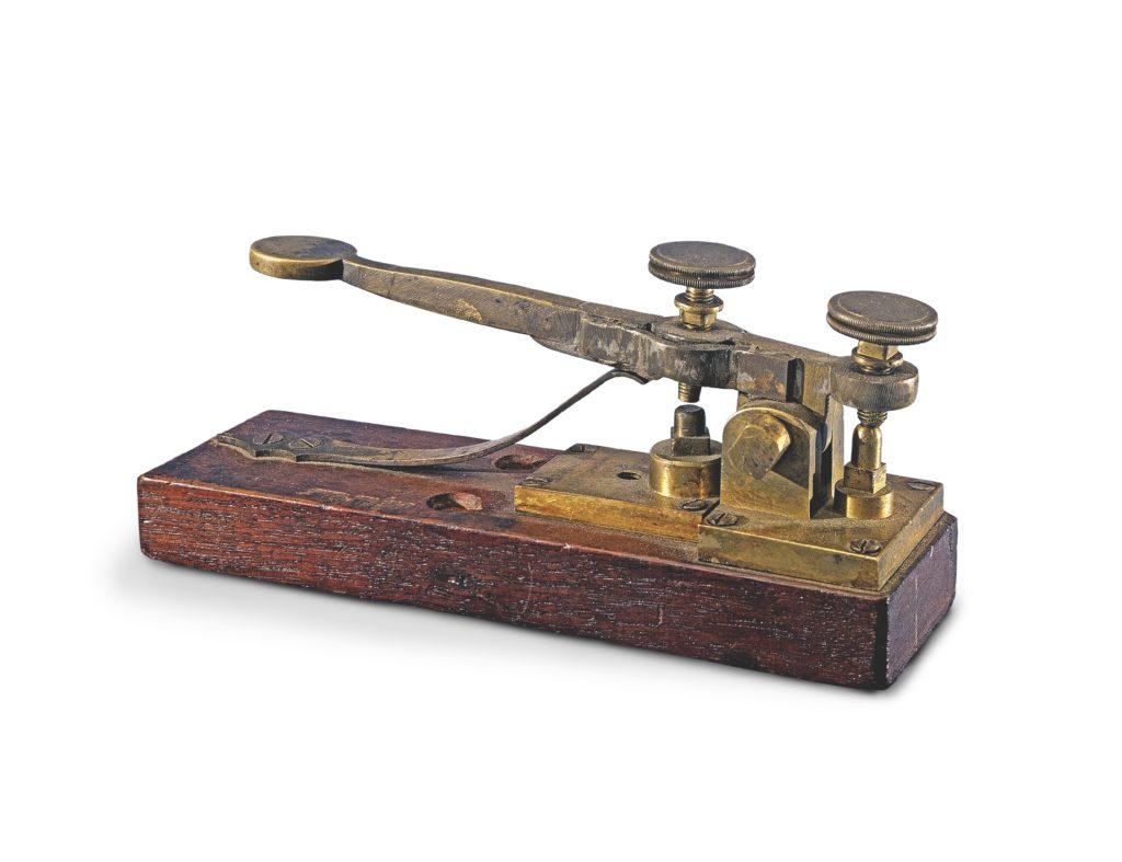 Morse Vail Telegraph Key