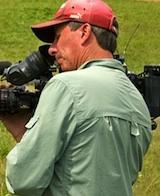 Chris Wheeler during filiming. Photo by Justin Koehler