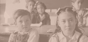 Questa, New Mexico. Spanish-American students in the grade school