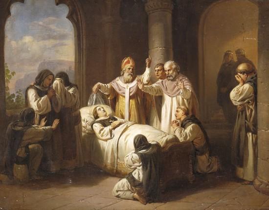 Molnár_Árpádházi_Margit_halála_1857