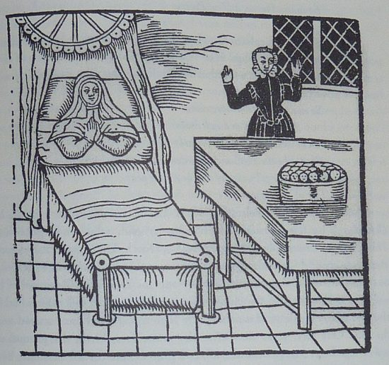 The childbirth and the children in the vessel (1620)