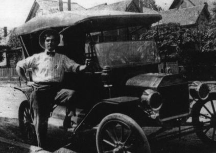 Man in Automobile