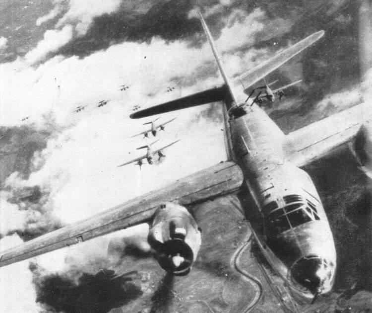 B 26 Marauder Over Germany