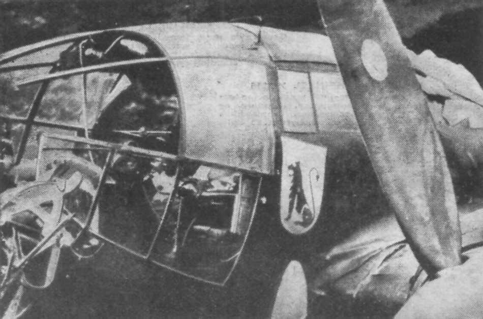 Heinkel He 111 Cockpit