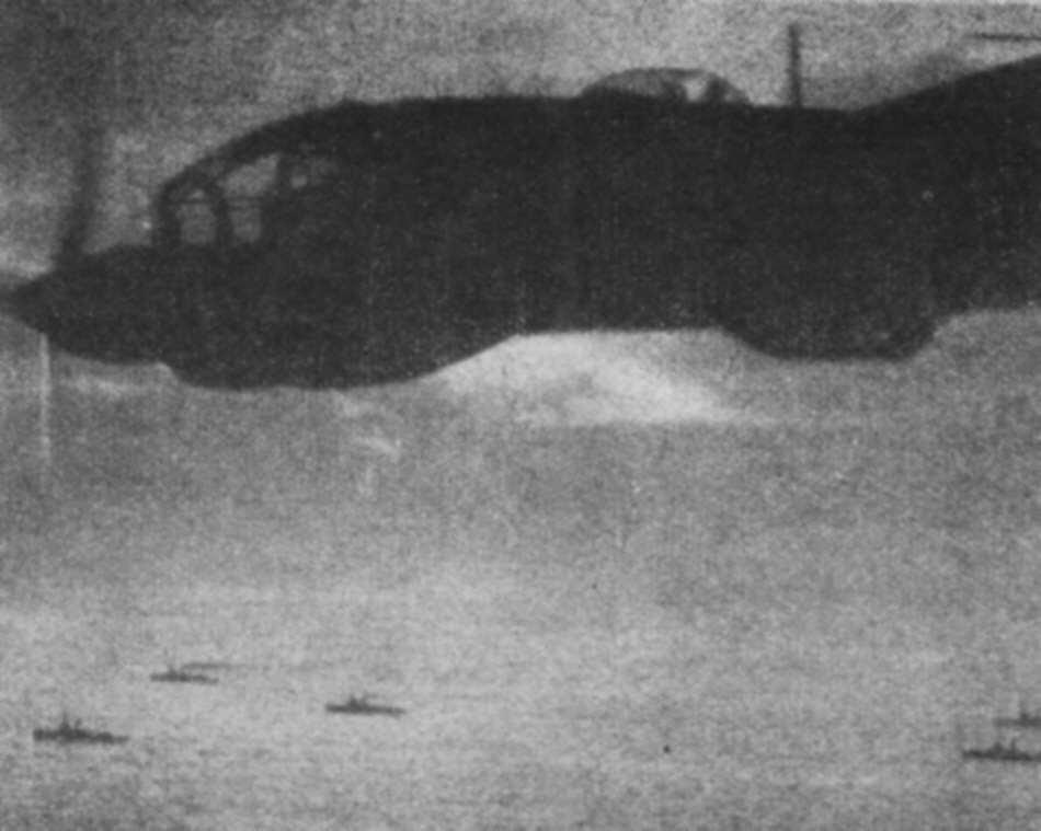 Heinkel He 111 in outline