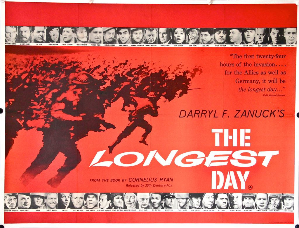D Day Movies From Longest Day To Saving Private Ryan