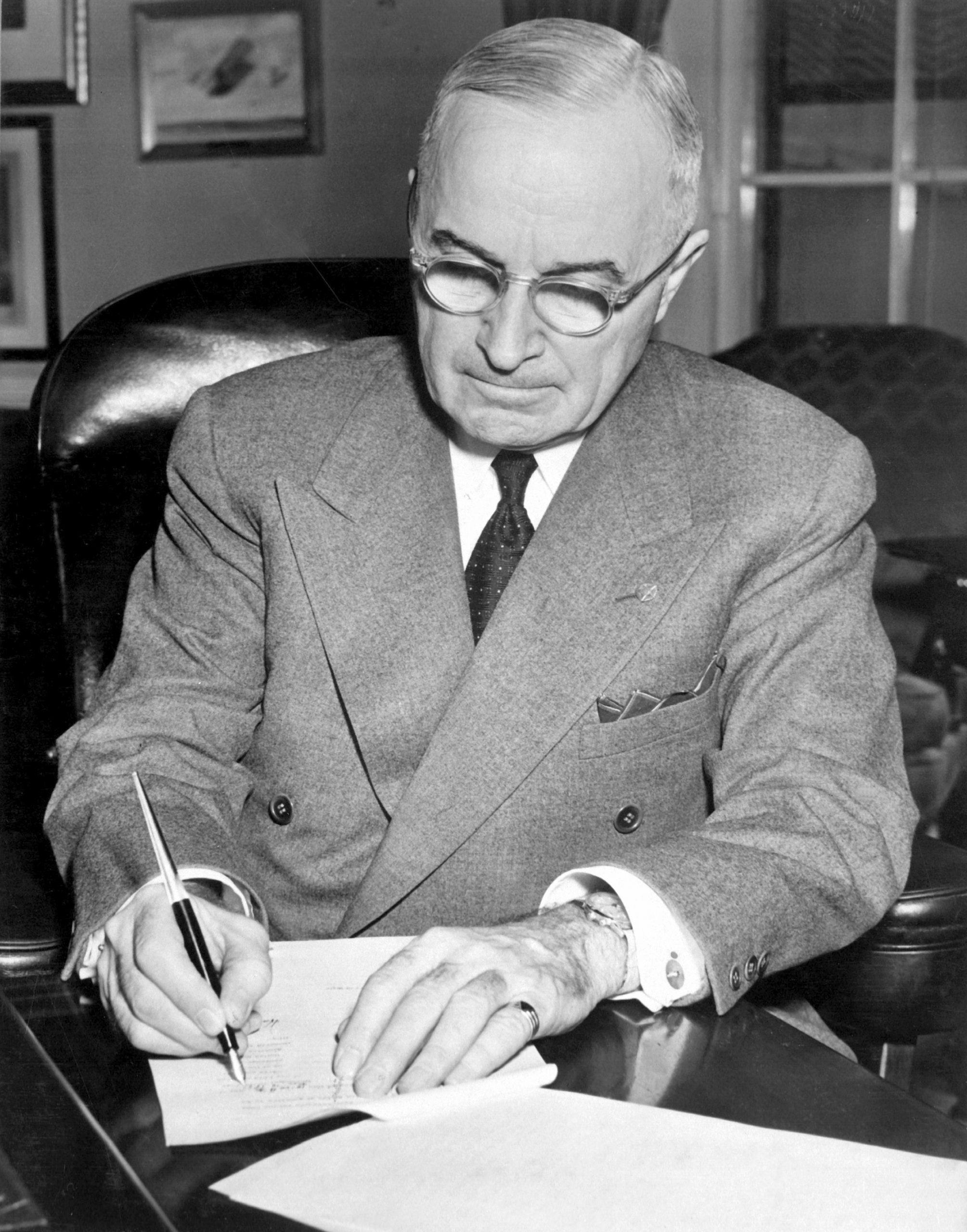 The Truman Doctrine Freedom Precedes Order