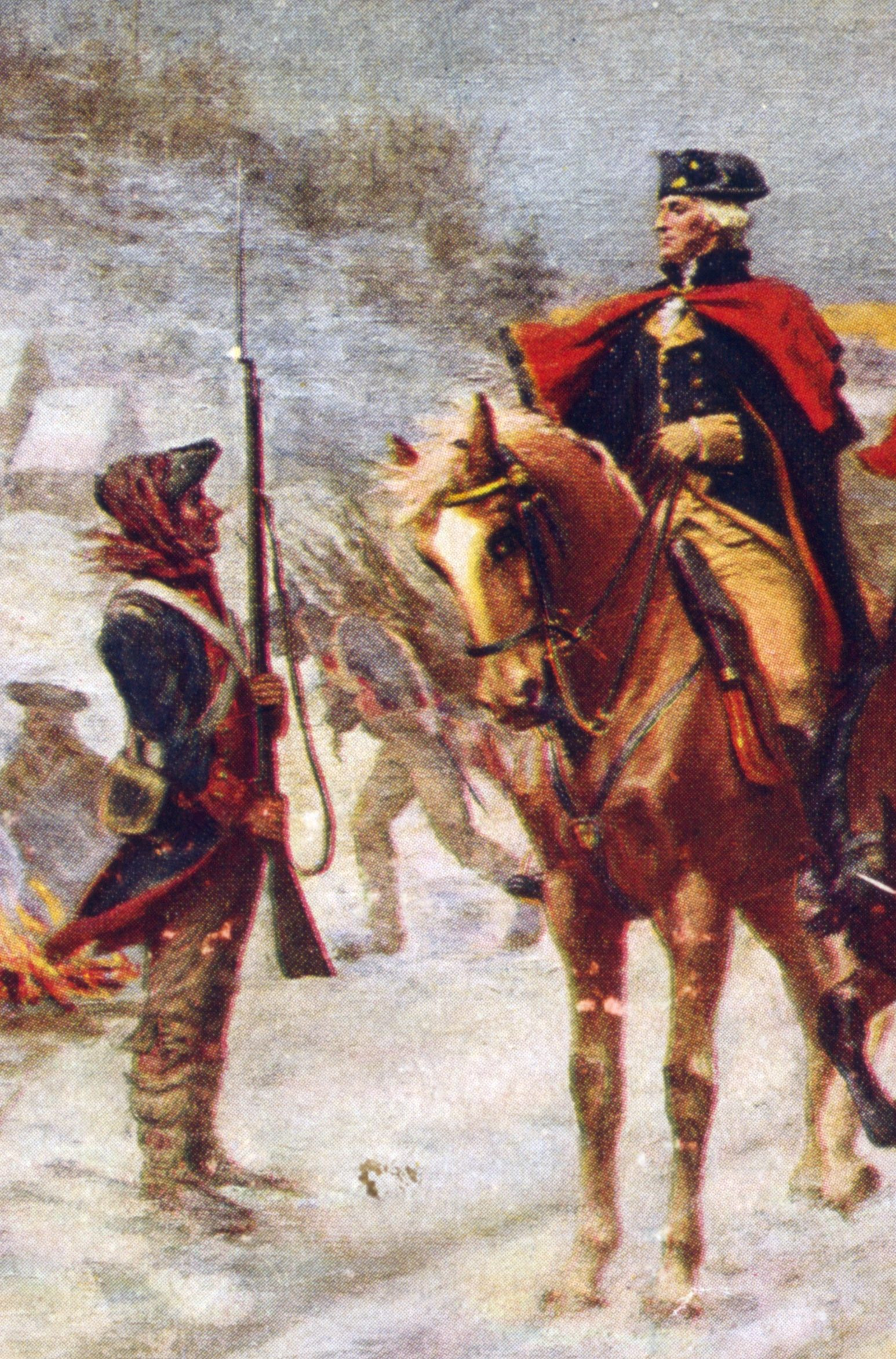 Valley Forge The Great Trial Of The Revolution