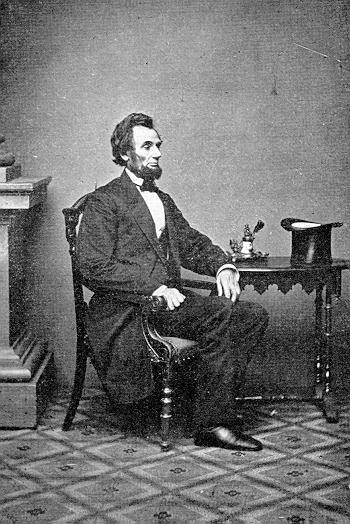 Abraham Lincoln, president-elect, on Feb. 23, 1861 - History Place