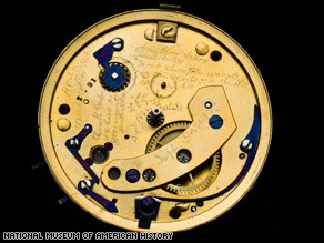 Message in Lincoln's Pocketwatch