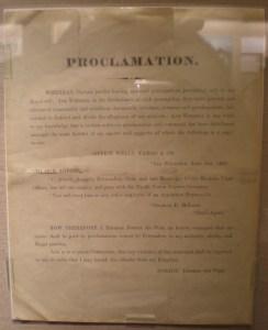 Proclamation by Emperor Norton I