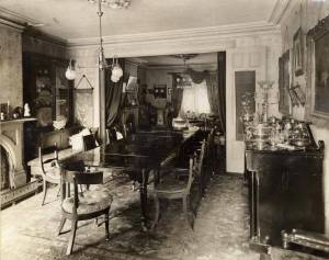 Berkeley House Dining Room in 1900