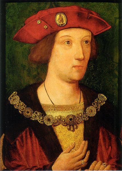 Arthur around the time of his marriage c.1501