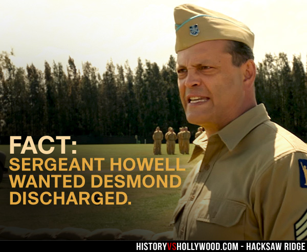 Vince Vaughn as Sergeant Howell