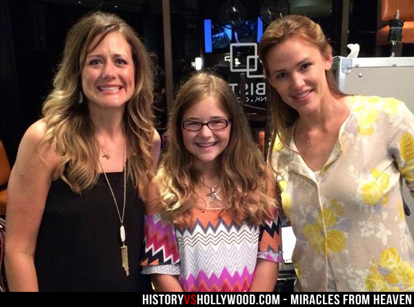 Christy Beam, Annabel Beam and Jennifer Garner