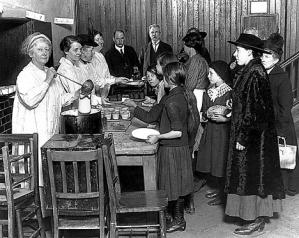 The soup kitchen - an earlier incarnation of 'the Big Society'?
