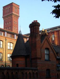 Bryant & May match factory in Bow (now Bow Quarter)