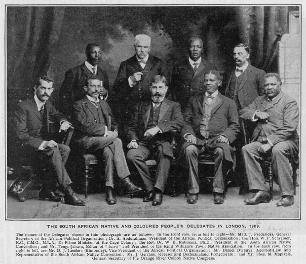 NLSA_APO_1909-1911_SA_Native_and_Coloured_Delegation