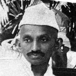 Gandhi + cap
