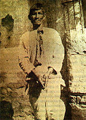 Indigenous leader Feliciano Ama prior to his execution