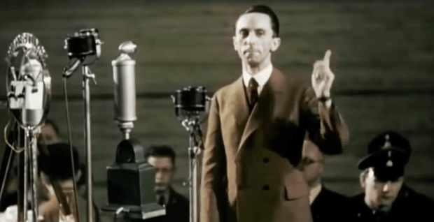 Speech by Joseph Goebbels, Berlin Sportpalast, 10 February 1933.