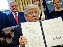Executive Order: Trump playing the 'nation' card
