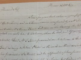 'I was a few years back a slave on your property': a letter from Mary Williamson to her former owner