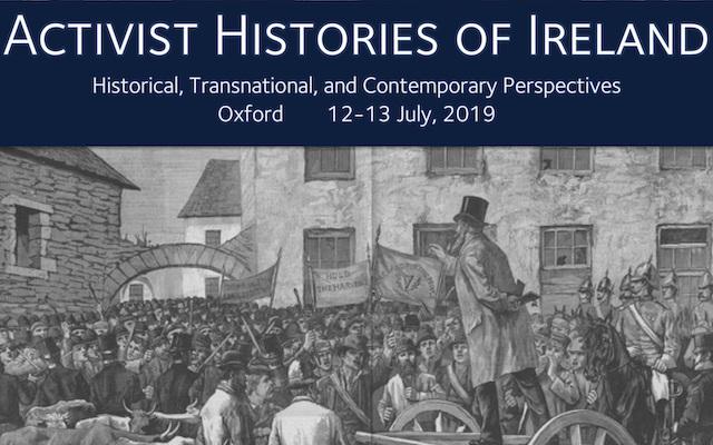 Activist Histories of Ireland – Conference Programme