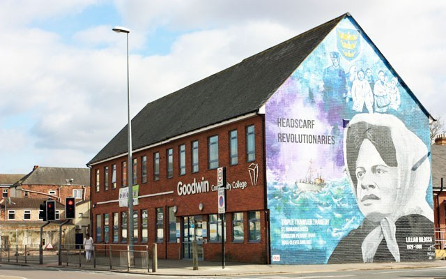 Radical Objects: Hull's 'Headscarf Revolutionaries' Mural