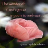 Quote of the Day ~ God's Grace ~ CHRISTian poetry by deborahann