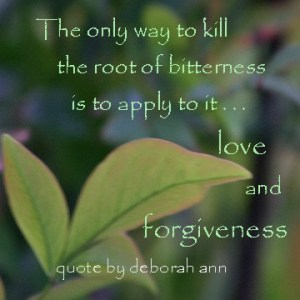 Quote of the Day ~ by deborah ann ~ Bitterness