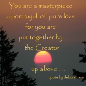 Quote ~ CHRISTian poetry by deborah ann ~ Creator