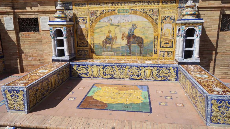 Mozaika - plac hiszpański